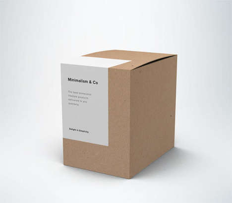 Minimalist Lifestyle Subscriptions - The Minimalism & Co Sends Simplistic Themed Goods