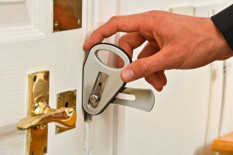 Secure Temporary Door Locks