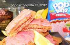 Alcoholic Pastry Recipes - The Pop-Tart Tequila Shot is a Tasty Way to Get a Little Tipsy
