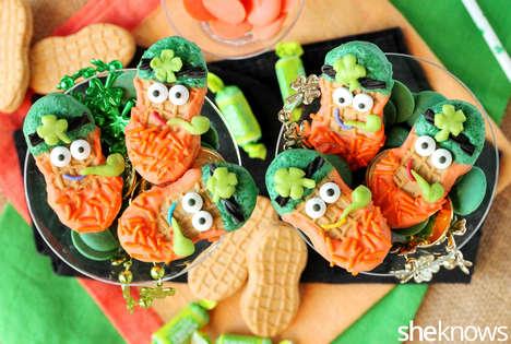 Celebratory Leprechaun Biscuits