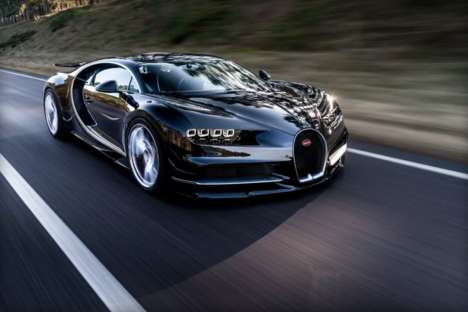 Exorbitantly Priced Cars - The €2.4 Million Bugatti Chiron is Revealed Ahead of Geneva Motor Show
