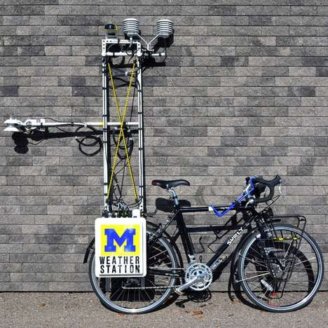 Weather-Monitoring Bicycles