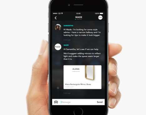 Business-Messaging Services - The Hero App Allows Consumers to Communicate with Companies
