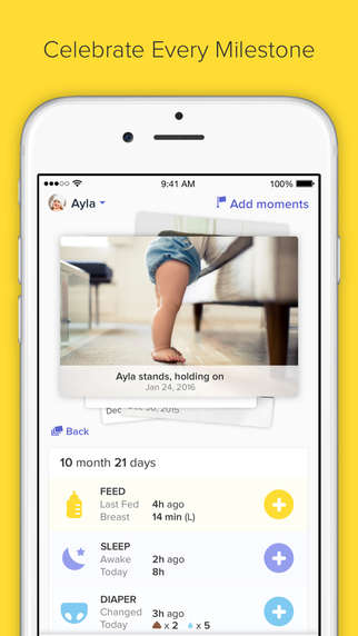 Baby-Monitoring Apps - The Glow Baby App Helps New Parents Keep Tabs On Their Baby's Health