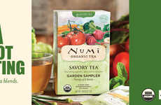Savory Vegetable Teas - These Teas are Made from Organic Vegetables, Wild Herbs and Spices