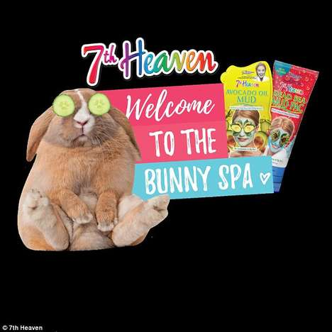 Pop-Up Bunny Spas - The 7th Heaven Spa Promotes the Brand's Cruelty-Free Approach to Beauty