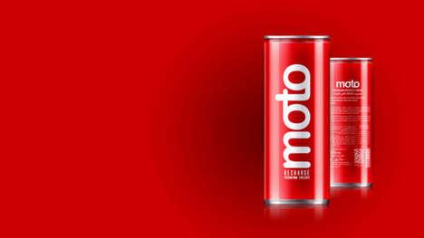Subtle Luxury Energy Drinks