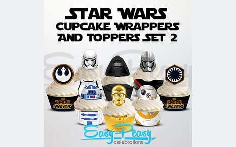 Galactic Cupcake Sets