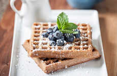 Sprouted Superfood Waffles - Food for Life's Vegan Waffles are Made with Chia, Barley, Flax and More