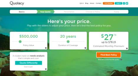 Intuitive Insurance Platforms - 'Quotacy' Simplifies the Process of Getting a Life Insurance Quote