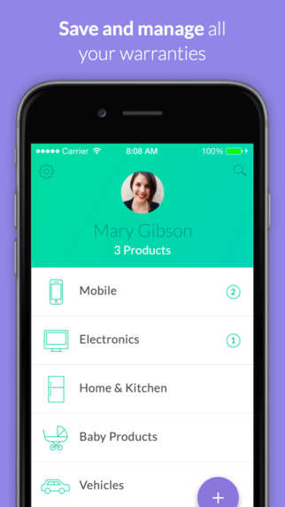 Warranty Management Apps - 'Warranteer' Uses Mobiles for Storing Product Warranty Information