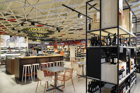 In-Store Tasting Lounges