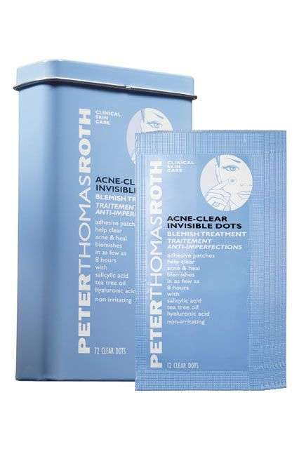 Acne Treatment Stickers - Peter Thomas Roth Dots are an Invisible Acne Spot Treatment