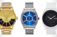 Luxe Galatic Timepieces - The Nixon Star Wars Line Features Classic Watches Inspired by the Films