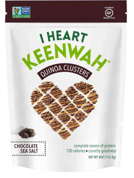 Bite-Sized Quinoa Snacks - The Quinoa Clusters from I Heart Keenwah Provide a Source of Protein
