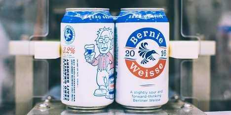 Presidential Beer Cans