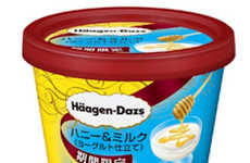 Yogurt-Inspired Ice Creams - The Newest Häagen-Dazs Japan Ice Cream Tastes Like Yogurt & Honey