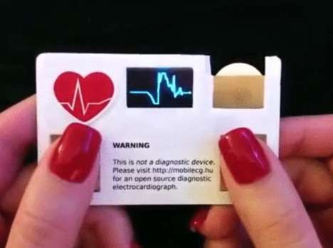 Pulse-Monitoring Business Cards