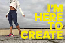 Inspiring Sportswear Films - Adidas' 'I'm Here to Create' Campaign Spotlights Female Athletes
