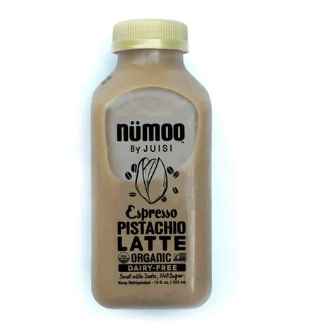 Caffeinated Nut Lattes - NÜMOO's Espresso Pistachio Latte Boasts Only Eight Simple Ingredients
