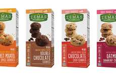 Ancient Grain Cookies - Zema Madhouse Foods' Healthy Cookies are Made with Whole Grains
