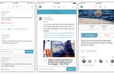 Political Social Media Apps - Politics Social Network Roust Unveiled a Smartphone Application
