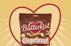 Gingerbread-Flavored Popcorn - This Butterkist Snack Uses a Cookie-Inspired Popcorn Seasoning