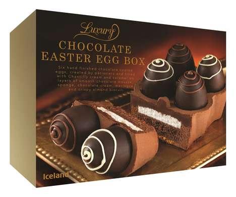 Egg Carton Chocolates