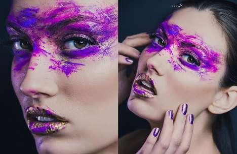Painted Purple Makeovers