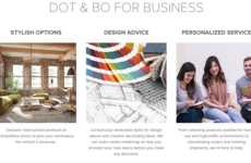 Complimentary Office Designs - Dot & Bo for Business Offers Free Styling Services for Startups
