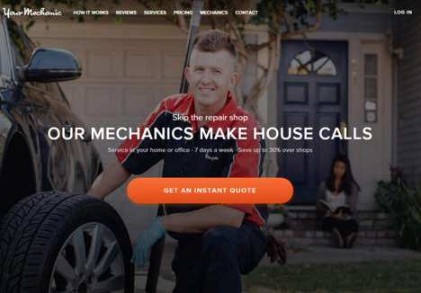 On-Call Mechanic Services - YourMechanic Brings the Repair Shop to a Driver's Home or Office
