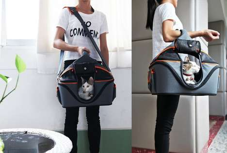 Portable Pet Bed Carriers