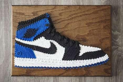 Sneaker String Art