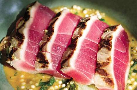 Seared Tuna Couscous Dishes