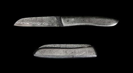 Celestial Meteorite Knives