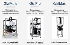 Ultra-Fast 3D Printers - The Gizmo 3D SLA DLP 3D Printing Systems Cut Down on Printing Time