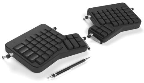 Ergonomically Separated Keyboards