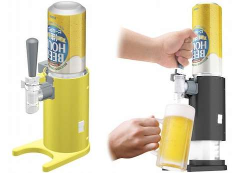 Foamy Beer Dispensers