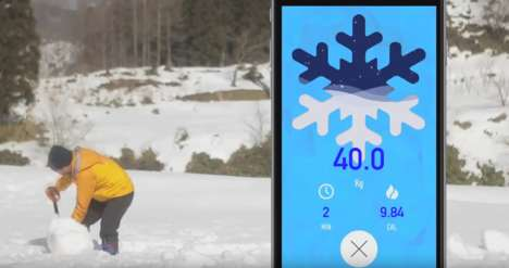 Gamified Shoveling Apps