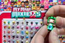 Interchangeable Collector Figures - 'My Mini Mixie Q's' Toy Figures Can be Customized by Kids