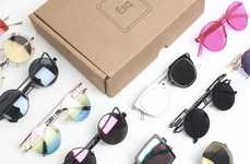 Wildcard Eyewear Promotions - Esqape's Wild Pile Gift Box Features Three Mystery Styles