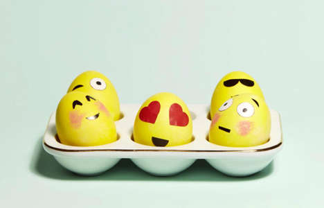 Emotive Holiday Eggs