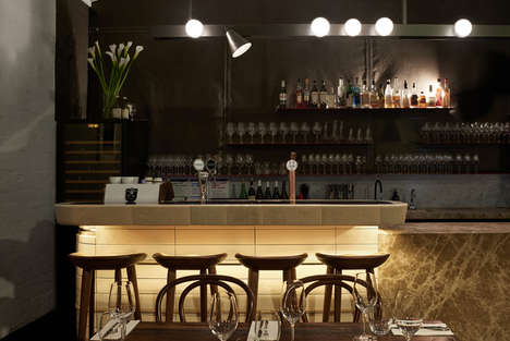 Chic Compact Snack Bars - The Smalls Bar in Melbourne Has a Menu of Wine and Cheese