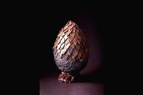 Mythic Dragon Easter Eggs - This Game of Thrones-Inspired Chocolate Egg by Melt is in London