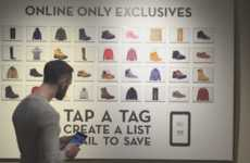 Tablet-Powered Apparel Stores - Timberland's Connected Store Encourages Discovery with NFC Tablets