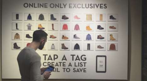 Tablet-Powered Apparel Stores