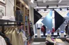 Window Shopper-Engaging Beacons - Lyle & Scott's Carnaby Street Location was Outfitted with Beacons