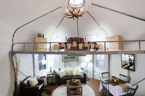 Comfortable Glamping Yurts - WeatherPort Yurts are Perfect for Idyllic Outdoor Adventures