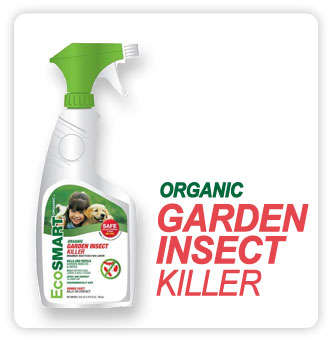 Plant Oil Pesticides - EcoSMART's Garden Insect Killer is Branded as Organic and Eco-Friendly