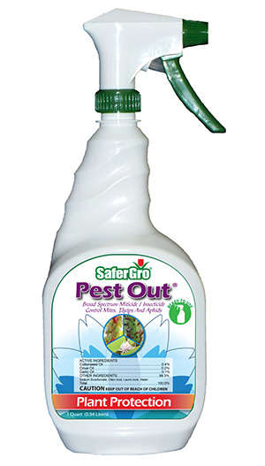 Food-Grade Pesticides - Safergro's 'Pest Out' is an Organic and All-Natural Pesticide